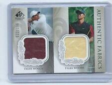 2004 Upper Deck SP Signature Fabrics Dual Shirt Golf Card Tiger Woods #32/100