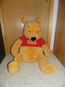 Rare Large 25 in Disney Store Exclusive Winnie The Pooh Bear Plush Figure