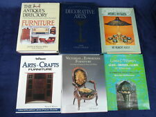6 Decorative Arts Books Tiffany Glass Arts Crafts Furniture