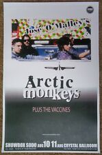 ARCTIC MONKEYS 2011 Gig POSTER Portland Oregon & Seattle Washington Concert