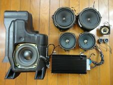 Bose 9-Piece Car Sound System *Powered* Speakers Cadillac SRX 2003-2009