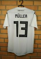 Muller Germany Player Issue Jersey 2018 2019 Home M Shirt BR7313 Soccer Adidas