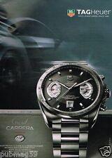 Publicité advertising 2007 La Monte Tag Heuer Grand carrera