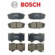 FOR Toyota Land Cruiser Tundra Seqouia BOSCH Ceramic Brake Pad Front & Rear Set