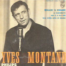 YVES MONTAND La Chansonnette FR Press Philips 432.701 EP