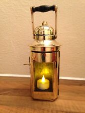 Vintage 1942 WW2 Brass Ships Compass Binnacle Light  Maritime Marine Nautical