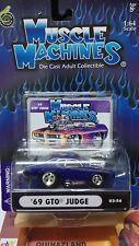 Muscle Machines '69 GTO Judge violette (9939)