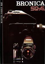 Zenza Bronica SQ-Ai MEDIUM FORMAT 6x6 Prospekt brochure - (0381)
