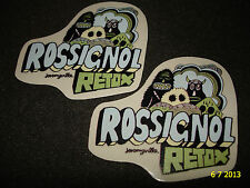 2 AUTHENTIC ROSSIGNOL RETOX PROMOTIONAL STICKERS #2 DECALS AUFKLEBER