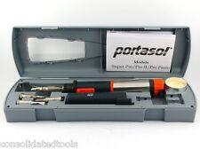 PORTASOL SUPER PRO 125 MK2 CORDLESS BUTANE GAS SOLDERING IRON KIT APSK SP-1K