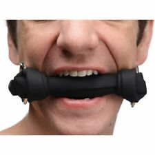 Silicone Mouth Gag Restraint Toy With Leash Slave Harness Foleplay Dog Bone
