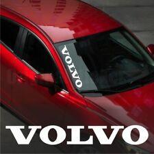 Volvo WINDSHIELD CAR Premium STICKER vinyl decal #1 S60 S40 S80 V50 V70 XC60 XC