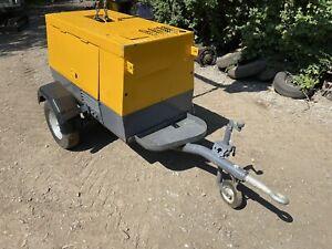 300 Amp Yanmar Diesel Generator & Welder Road Tow £1900+vat