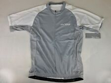 Orca Women's Cycle Top Jersey, Gray/White color, NEW. Retail $75