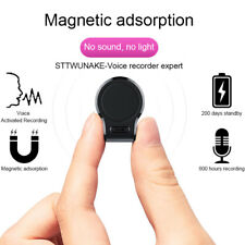 8/16GB Digital Voice Recorder Mini Hidden Auto Voice Activated Magnet Spy Device