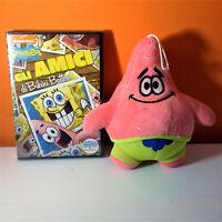 Spongebob dvd Gli amici di Bikini Bottom + peluche: Patrick Stella 20cm circa