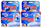 House Care Toilet Bowl Cleaner Tabs with Blue & Bleach, 2 Ct. (Pack of 2)