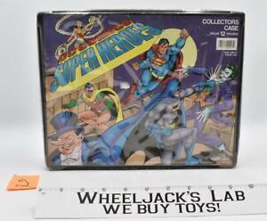 #2 DC Comics Super Heroes 12 Figure Collectors Case 1989 Toy Biz