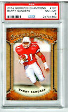2014 Goodwin Champions Barry Sanders PSA 8