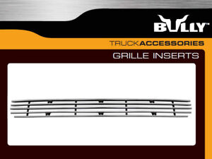 FOR FORD F150 EXPEDITION BULLY BILLET ALUMINUM BUMPER GRILLE INSERT HORIZONTAL
