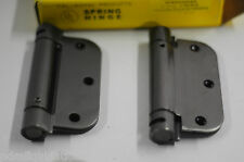 """SPRING Hinge Set 3.5"""" X3.5""""  Nickel Oxidized Relieved Cal-Royal SH-3558R 48pc"""