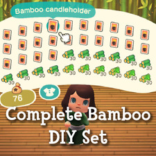 Complete Bamboo DIY Crafting Set Materials Bamboo Young Spring New Horizons