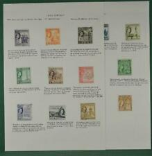 MALTA STAMPS 1956 SET TO £1 ON 2 ALBUM PAGES  (H77)