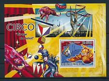 [34614] Sao Tome & Principe 2008 Circus Cirque du Soleil Elephant MNH Sheet