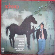 """SALVATORE ADAMO - DOUBLE LP """"MADEMOISELLE ATTENDEZ"""" - RARE DEUXIÈME POCHETTE"""