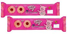 M&S PERCY PIG SPONGE ROLL CAKE / JAM SANDWICH SWEETS DESSERT WITH & FRUITY JELLY