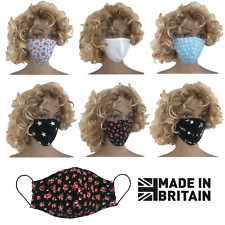 Face Mask cotton UK Produced washable medical double-layer cover reusable