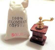 "1/"" Scale Dollhouse Miniature Sugar Box /& Metal Scoop Set #CAR1316SM"