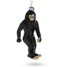 Bigfoot Blown Glass Christmas Ornament