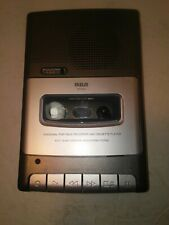 Rca Personal Portable Recorder and Cassette Player Rp3503-B