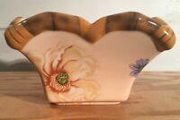Silvestri Peggy Turchette Decoupage Vintage Square Bowl