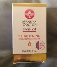 Manuka Doctor Brightening Facial Oil With Manuka Oil - 0.85 fl oz Brand New