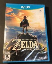 The Legend of Zelda [ Breath of The Wild ] (Wii U) NEW