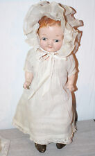 """Vintage Composition Shoulder Head Doll Painted Eyes Century Dolls 15"""""""
