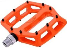 "DMR V12 Sealed Bearings MTB Bike Bicycle Flat Platform Pedals 9/16"" Tango Orange"
