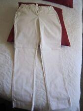 pantalon jeans blanc Cyrillus  14 ans  neuf