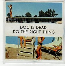 (EQ269) Dog Is Dead, Do The Right Thing - 2012 DJ CD