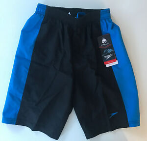 Speedo Hydrovolley Swim Trunks with Jammer Liner 18'' Shorts, , Small (8)