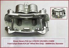 """Front Brake Caliper R/H For Pathfinder R51 - 2.5DCi/TD 16"""" Wheel New (01/2005+)"""