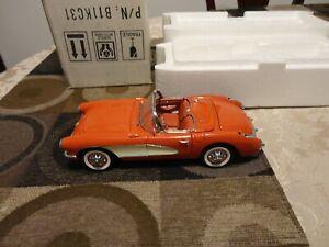 Danbury Mint 1:24 1956 Corvette Roadster Limited Edition