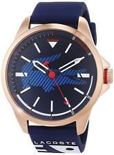 Lacoste Original 2010964 Men's Capbreton Blue Silicone Strap Watch 46mm