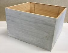 Weinkiste Holz 6er Kiste Deko Wein Shabby Chateau Regal  Grand Cru Farbe: weiß