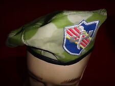 Vietnam War Camo Beret US Advisor To South Vietnamese Military Group PRU Team