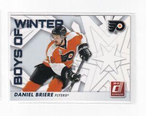 2010-11 DANIEL BRIERE DONRUSS HOCKEY BOYS OF WINTER CARD 76