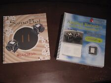 LOT OF 2 (TWO) PARALLAX, INC. BOOKS: SUMOBOT & APPLIED ROBOTICS WITH THE SUMOBOT
