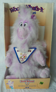 NWT Vintage c.1986 Wooly What's-It Plush Hand Puppet WOW Teddy Ruxpin in BOX